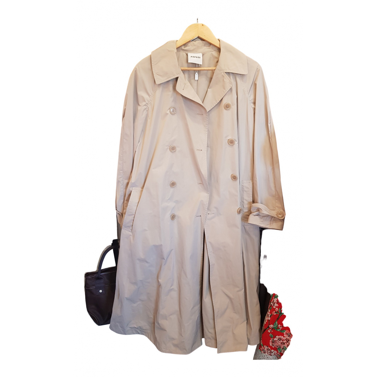 Aspesi - Trench   pour femme - beige