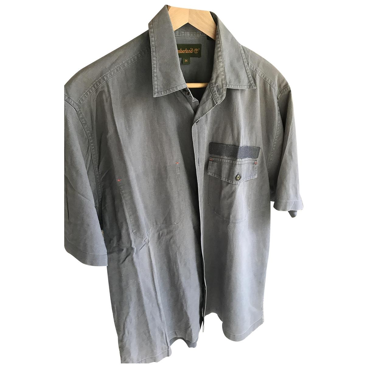 Timberland \N Hemden in  Khaki Leinen