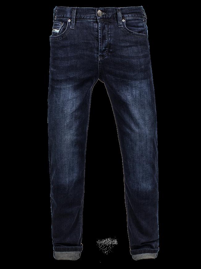 John Doe Regular Dark Pantalon Motorista Azul Hecho De Kevlar 28/32