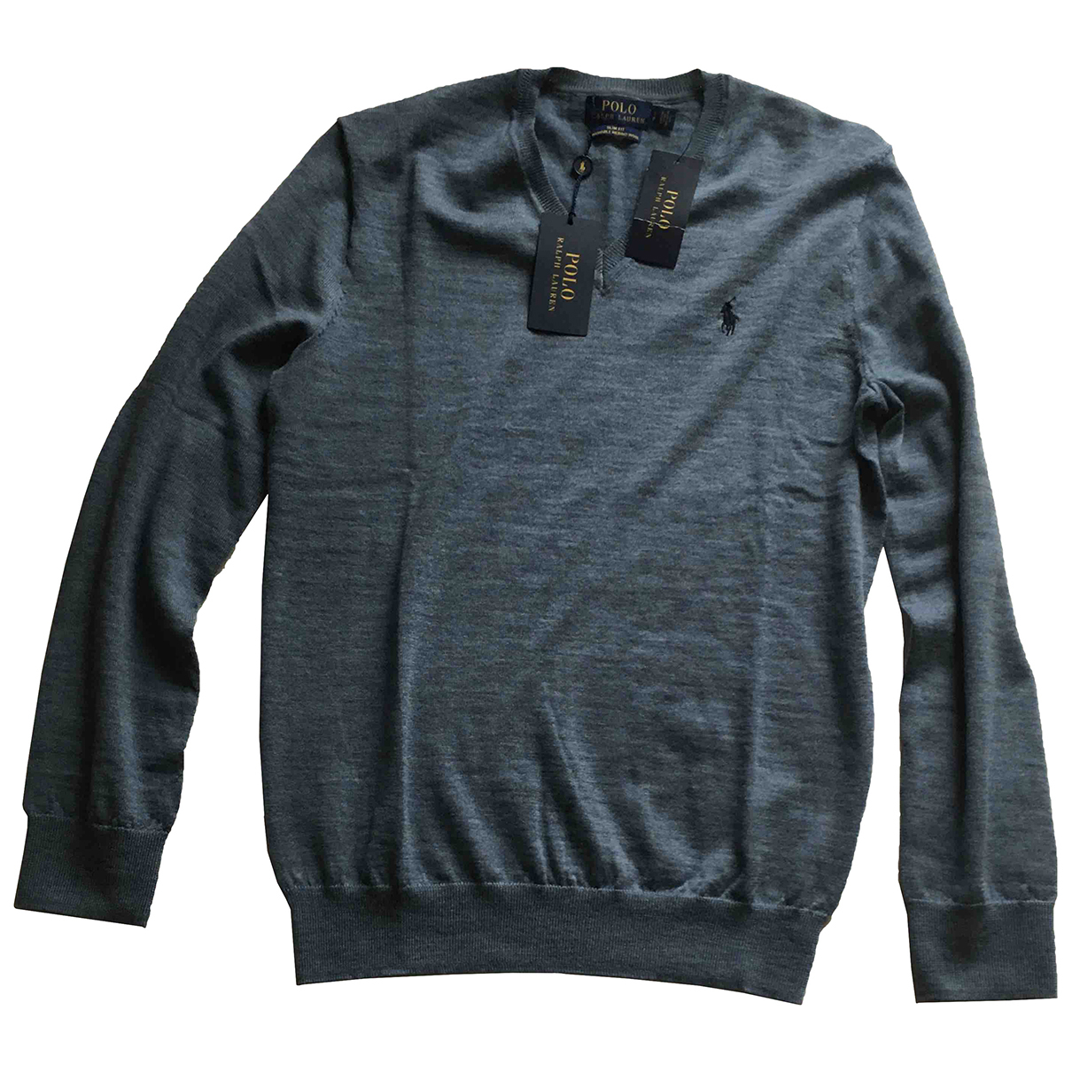 Polo Ralph Lauren N Blue Wool Knitwear & Sweatshirts for Men S International