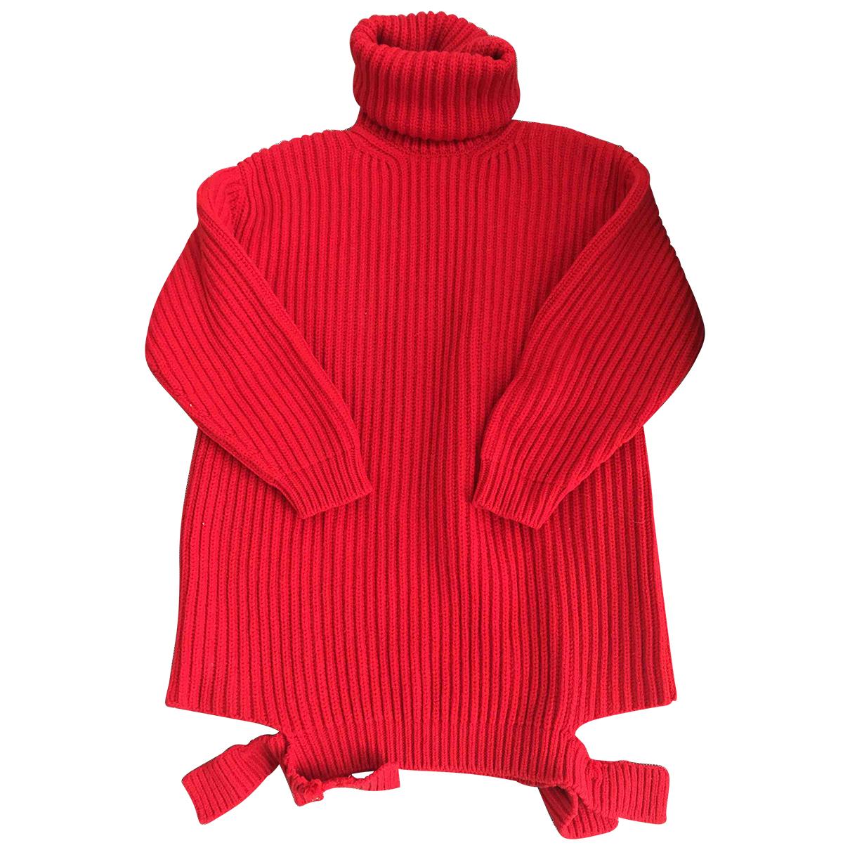 Balenciaga \N Red Wool Knitwear for Women 34 FR