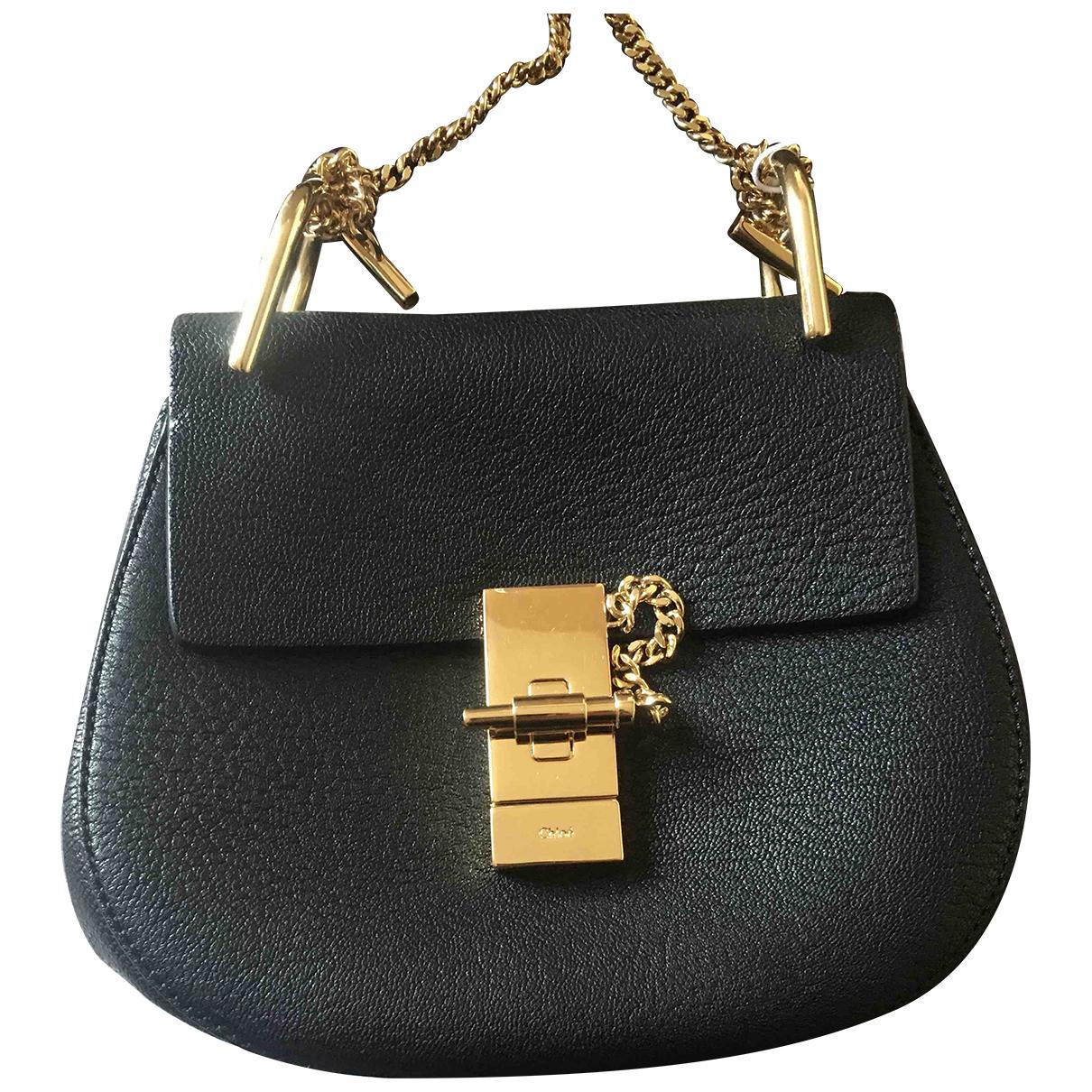 Chloé Drew Black Leather handbag for Women N