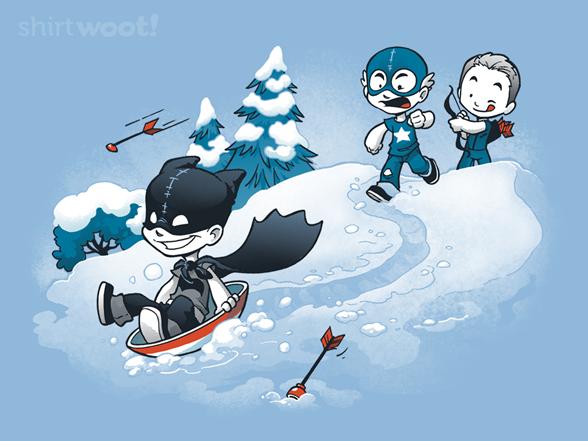 Super Jerk - Snow T Shirt