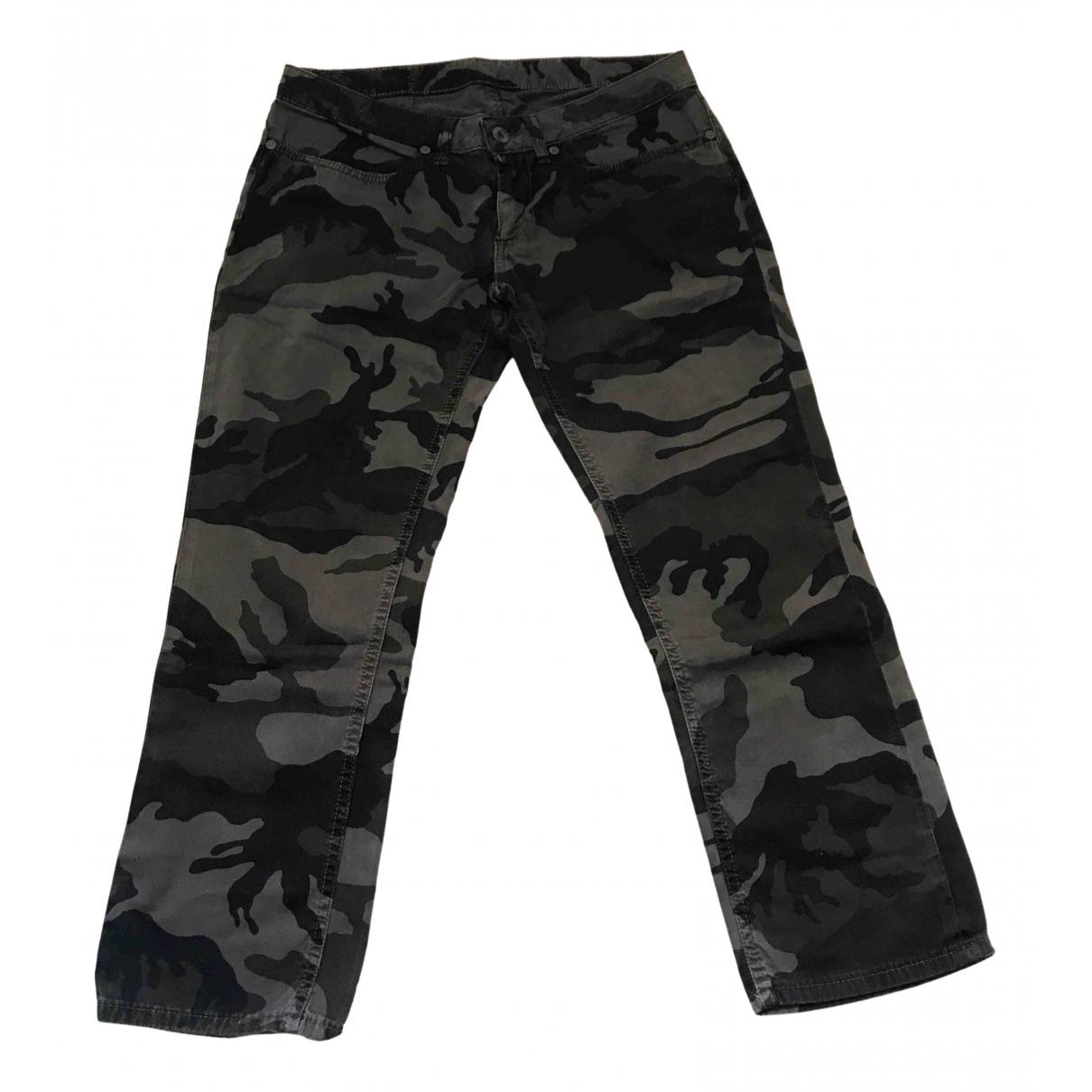 Pantalon en Algodon Multicolor Dondup