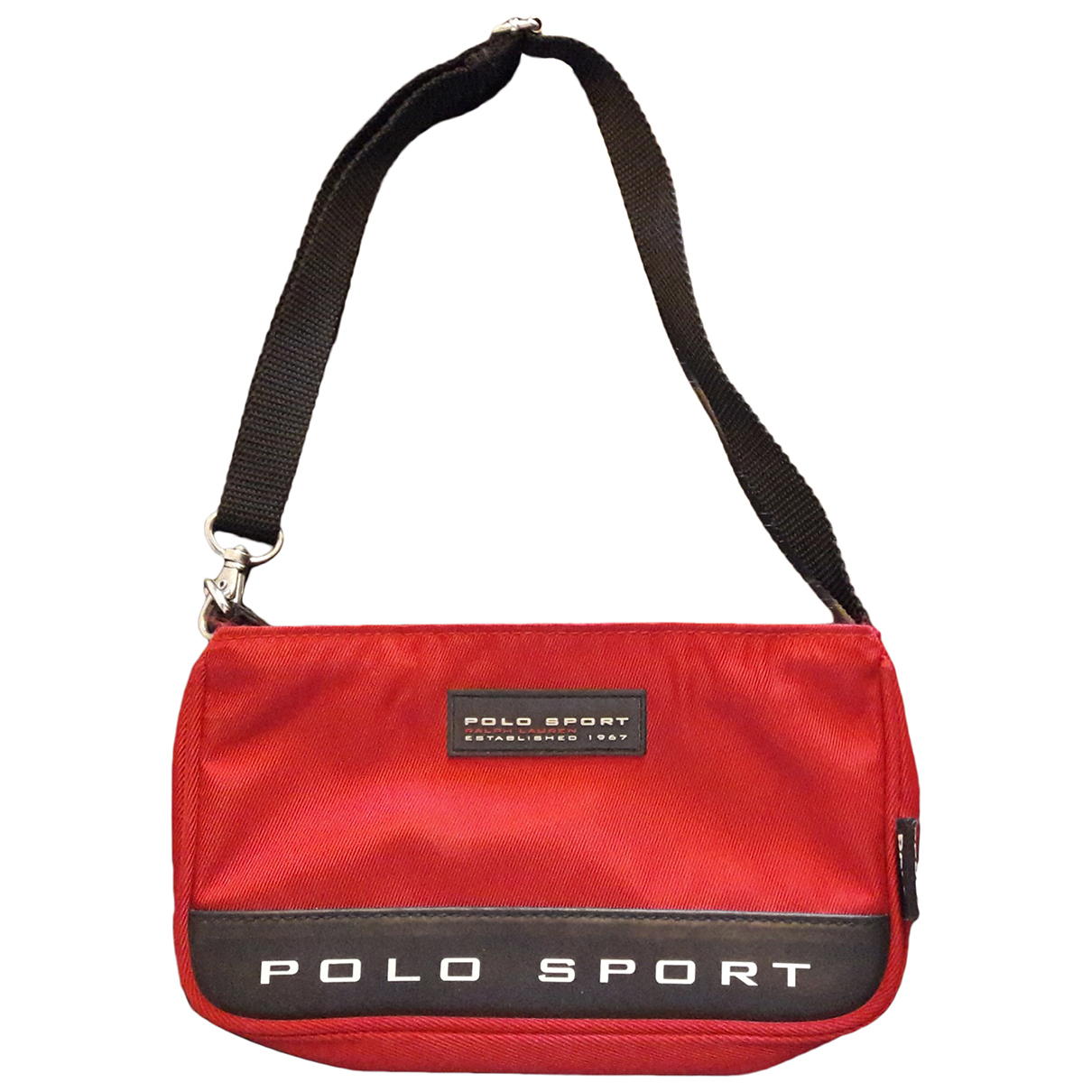 Polo Ralph Lauren \N Clutch in  Rot Polyester