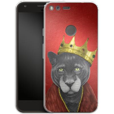 Google Pixel Silikon Handyhuelle - The King Panther von Barruf
