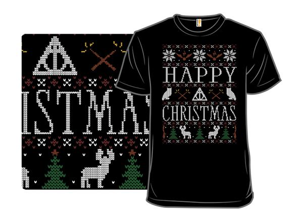 Happy Christmas T Shirt