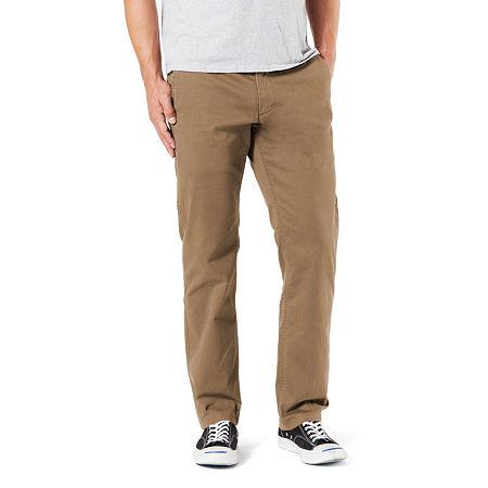 Dockers Men's Straight Fit Original Khaki All Seasons Tech Pants D2, 38 34, Brown