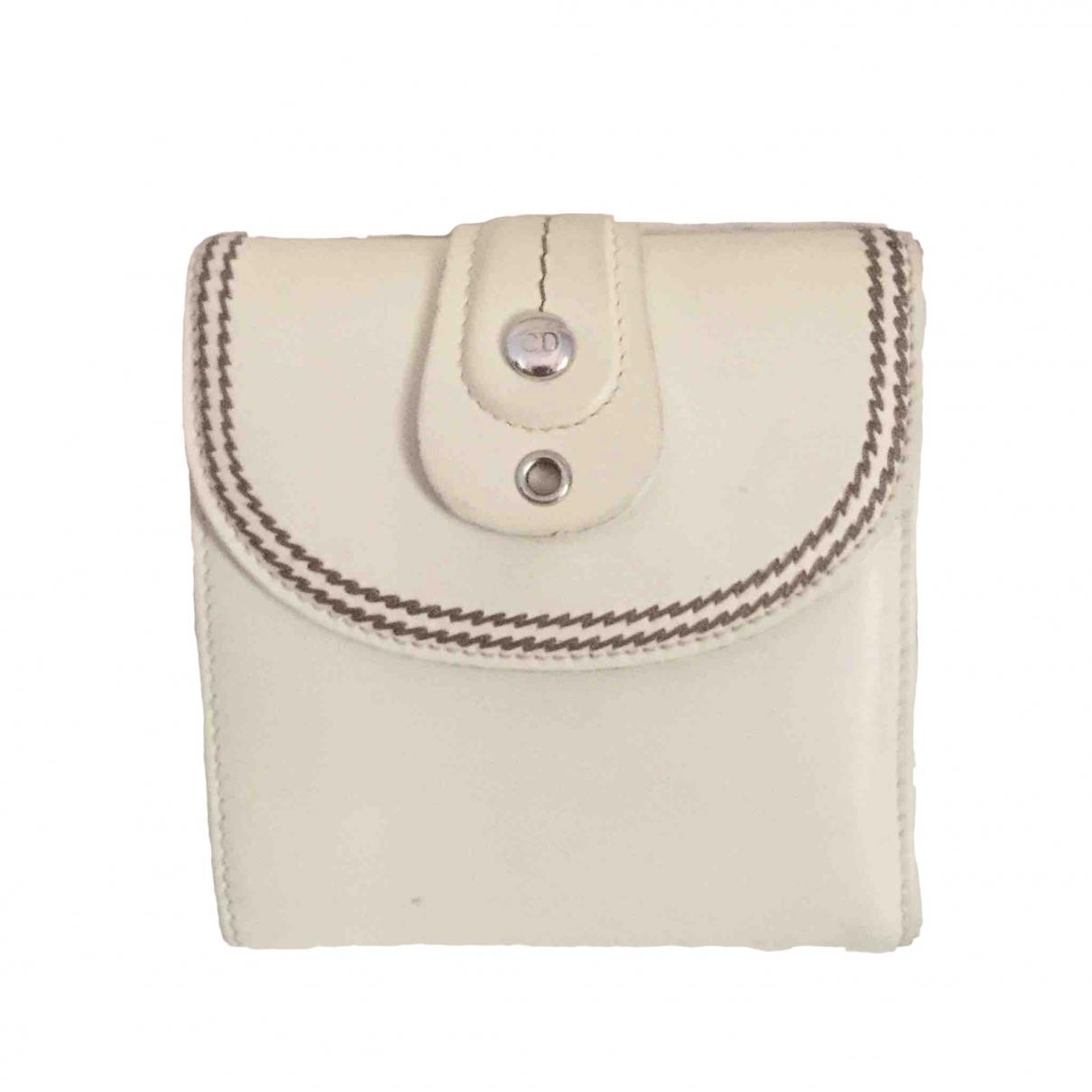 Dior \N Portemonnaie in  Beige Leder