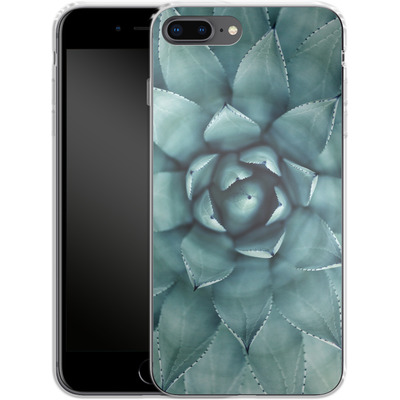 Apple iPhone 8 Plus Silikon Handyhuelle - Beautiful Succulent von caseable Designs
