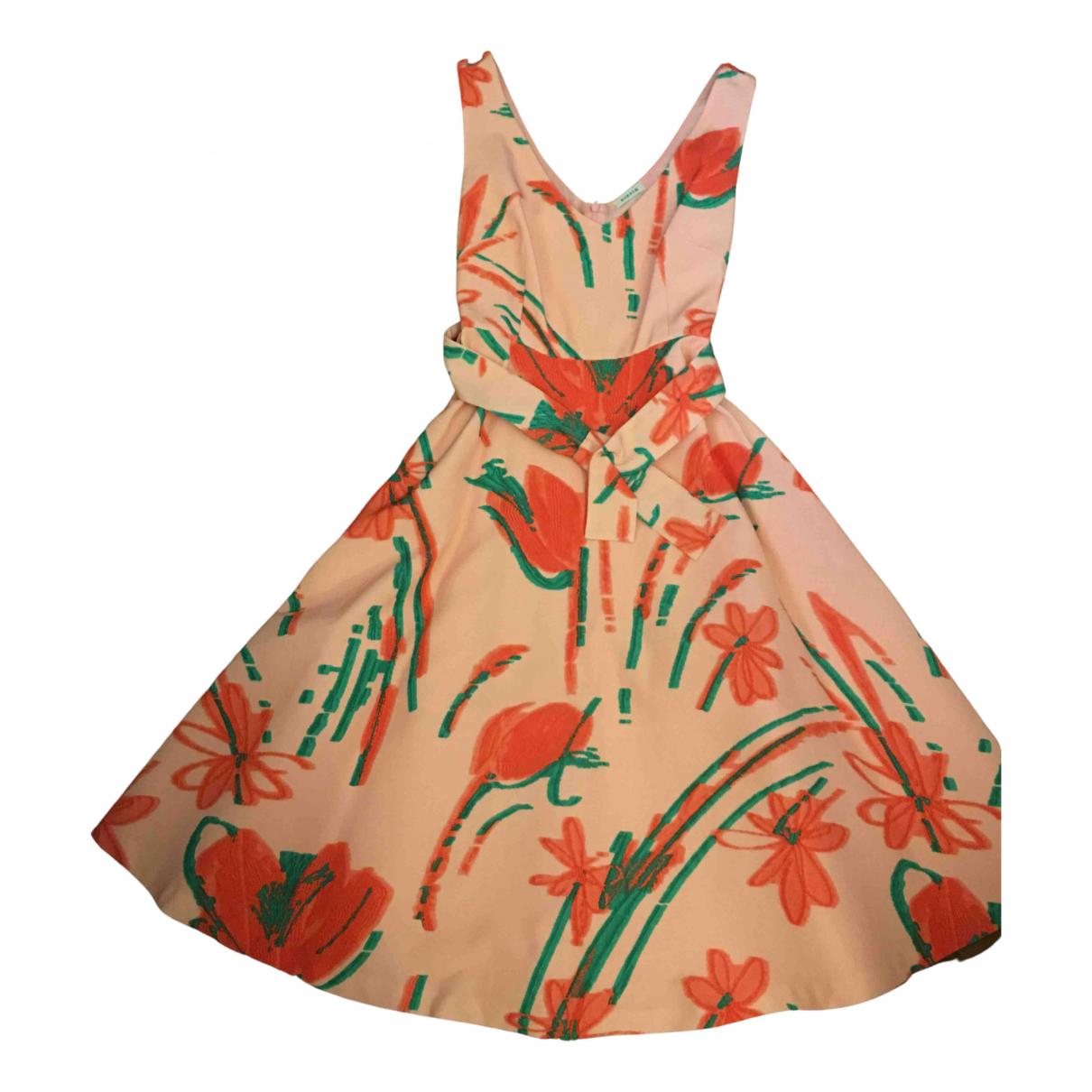 Parosh N Pink Cotton dress for Women 42 IT