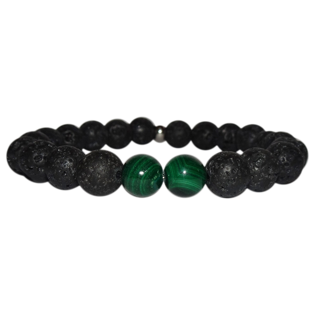 Non Signe / Unsigned \N Armband in  Schwarz Perlen