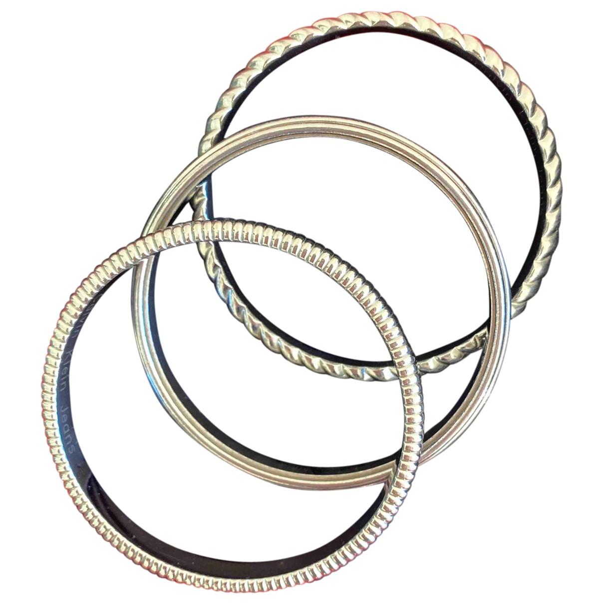 Calvin Klein \N Armband in  Silber Stahl