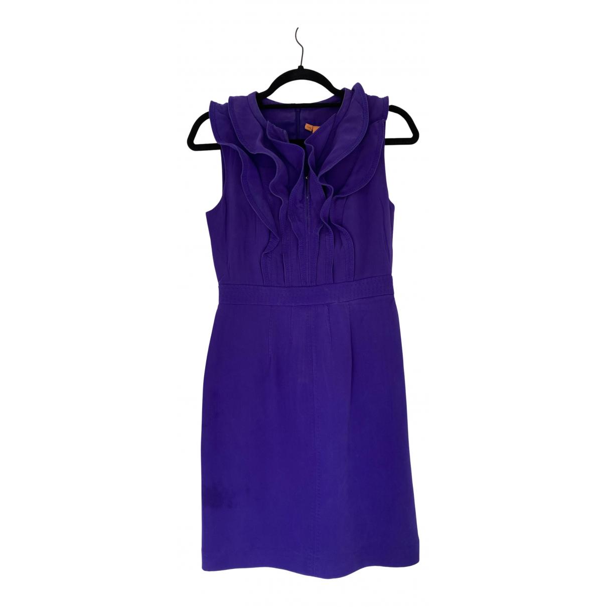 Tory Burch N Purple Silk dress for Women 2 US