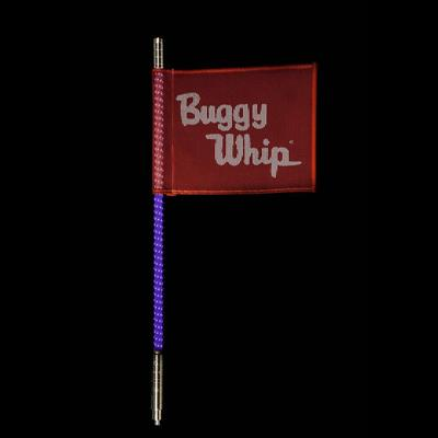Buggy Whip 4' Purple LED Whip, Quick Release - BWLED4PPQ