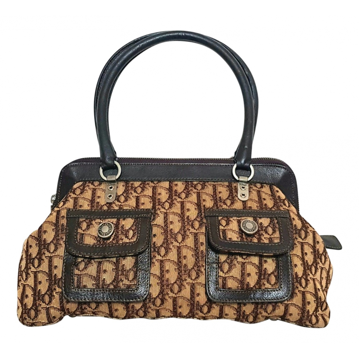 Dior \N Brown Cloth handbag for Women \N