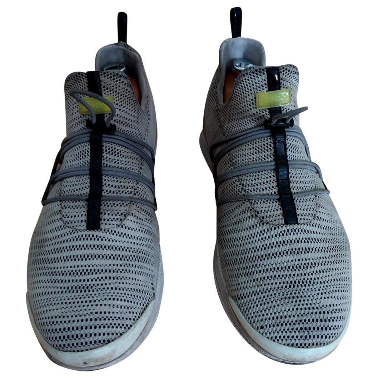 Kenzo - Baskets   pour homme - gris