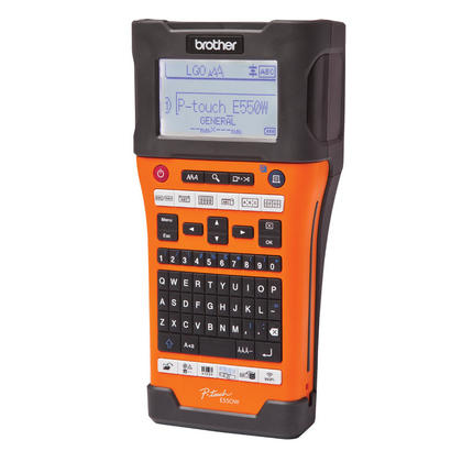 Brother@ P-Touch@ PT-E550WVP Industrial Handheld Wireless Labeller