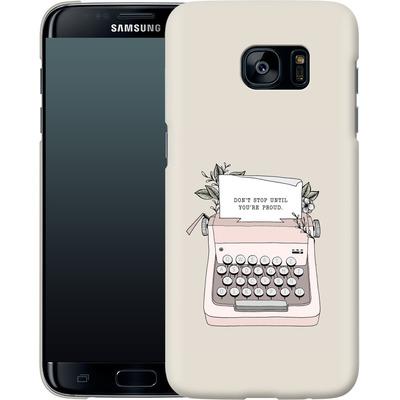Samsung Galaxy S7 Edge Smartphone Huelle - Dont Stop von Barlena