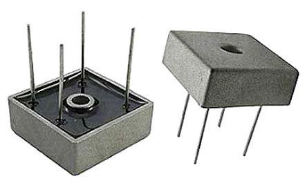 HY Electronic Corp KBPC1506W, Bridge Rectifier, 15A 600V, 4-Pin KBPC W (10)