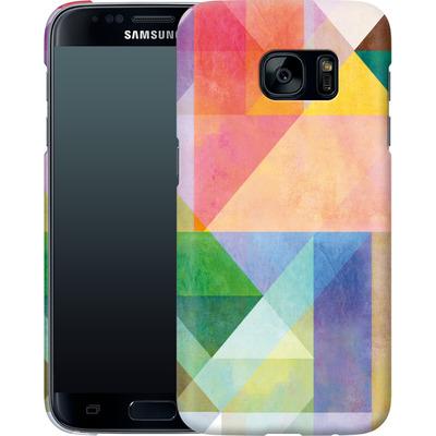Samsung Galaxy S7 Smartphone Huelle - Color Blocking 1 von Mareike Bohmer