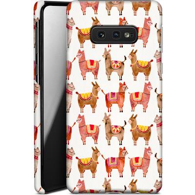 Samsung Galaxy S10e Smartphone Huelle - Alpacas von Cat Coquillette