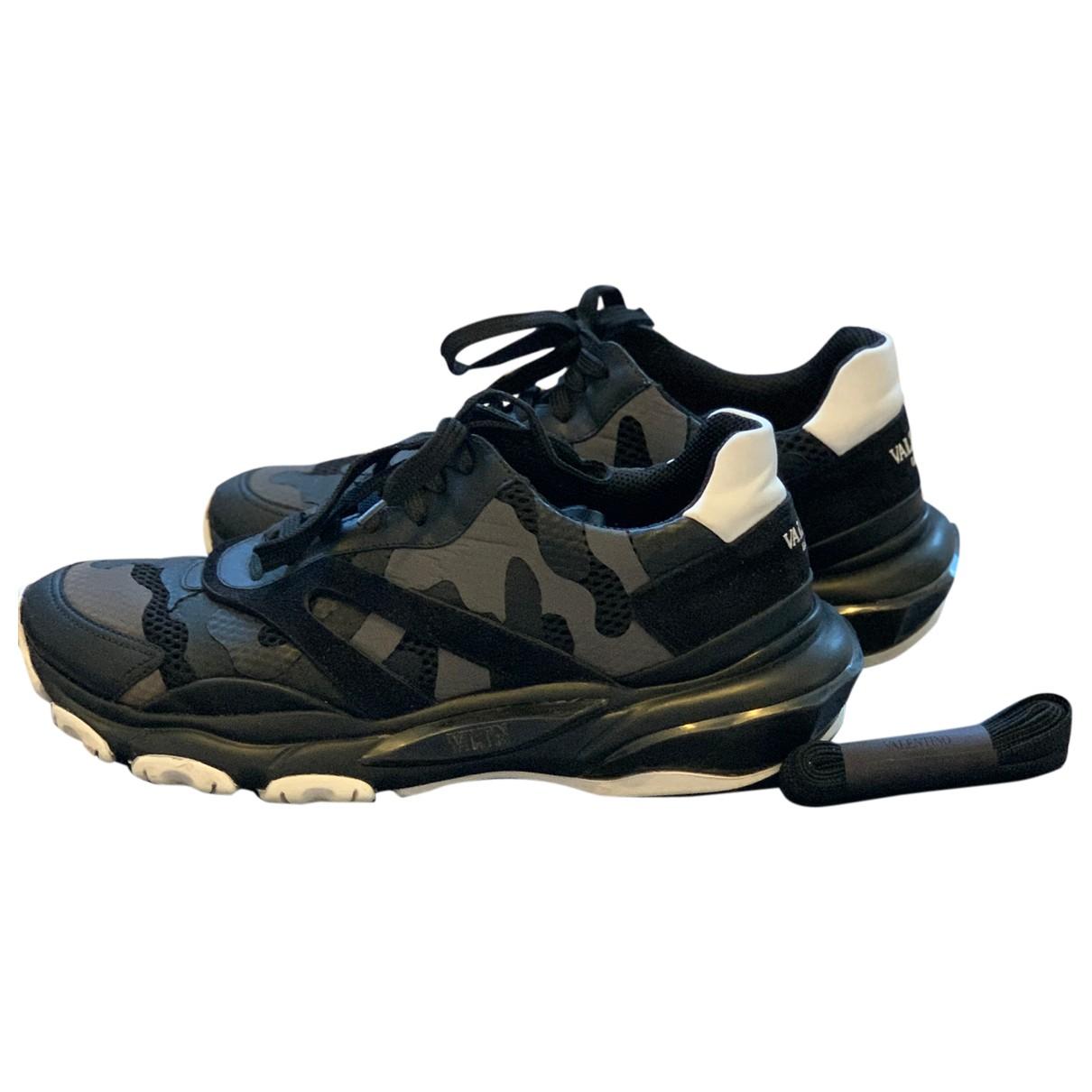 Valentino Garavani \N Sneakers in  Bunt Leinen
