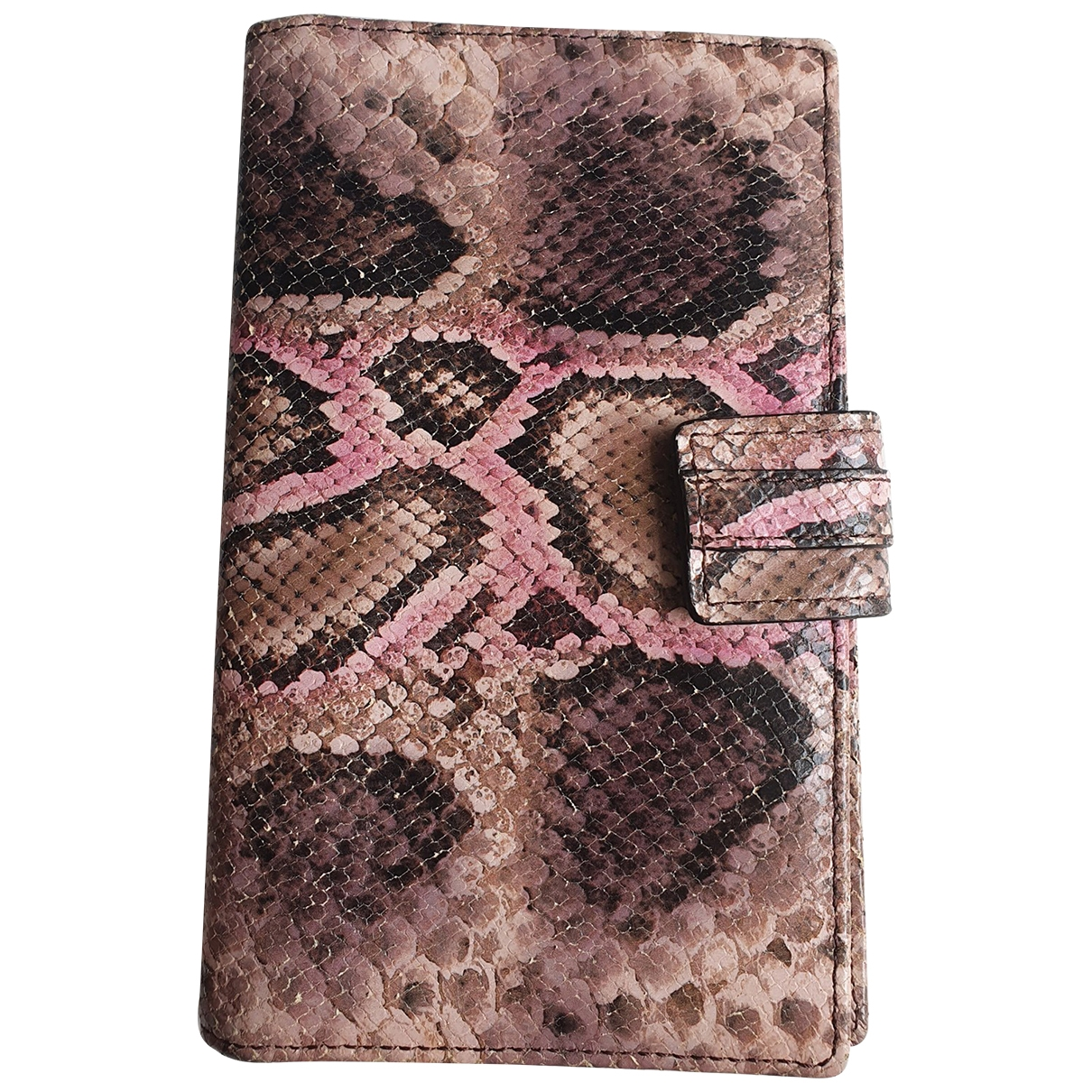 Uterque \N Pink Leather Purses, wallet & cases for Women \N