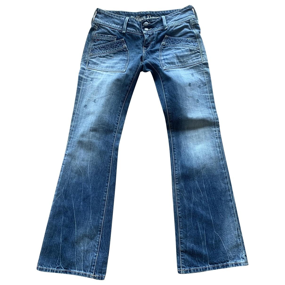 Tommy Hilfiger \N Blue Cotton Jeans for Women 36 FR