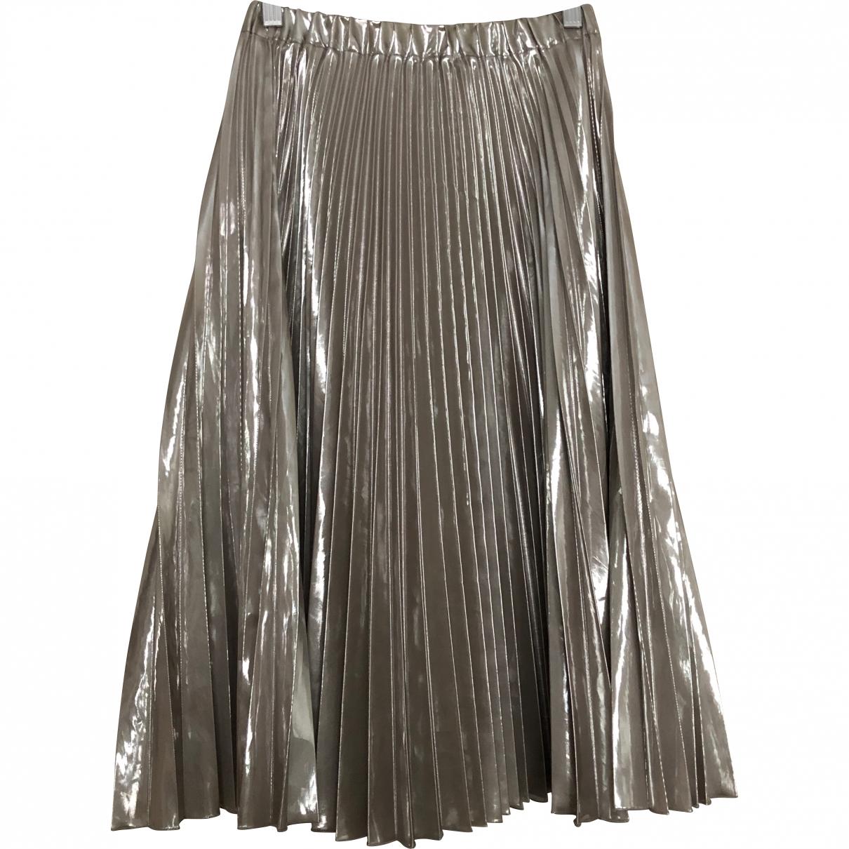 N°21 \N Silver skirt for Women 40 IT
