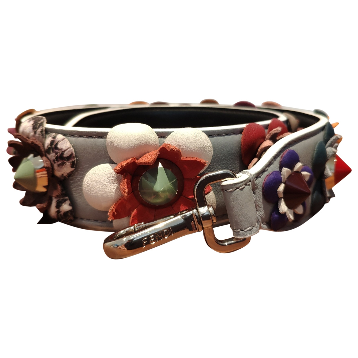 Fendi \N Grey Leather Purses, wallet & cases for Women M International