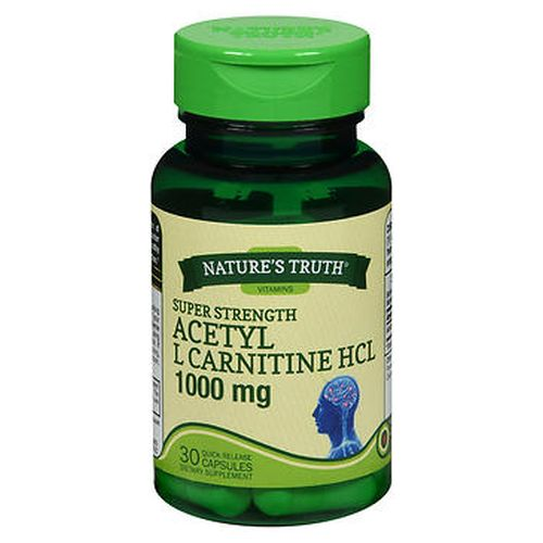 NatureS Truth Acetyl L Carnitine HCL Quick Release Capsules 30 Caps by Natures Truth