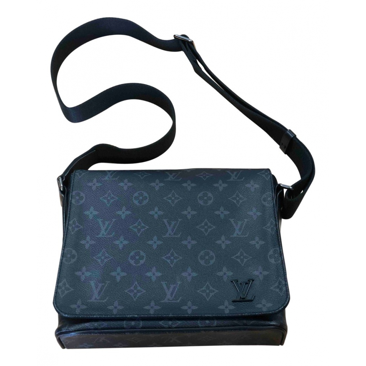 Louis Vuitton District Anthracite Cloth bag for Men \N
