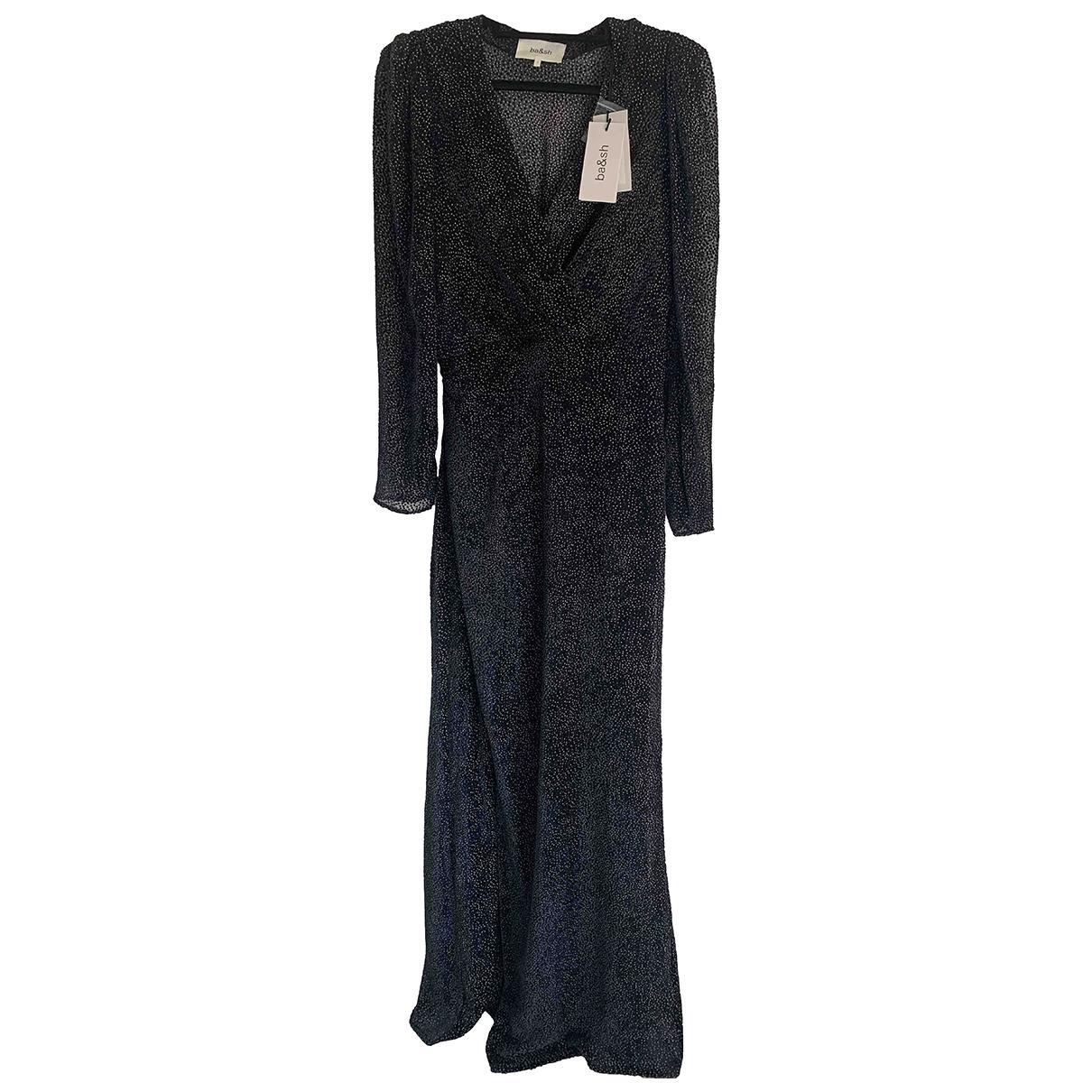 Ba&sh \N Black Silk dress for Women 10 US