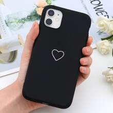 Heart Print iPhone Case