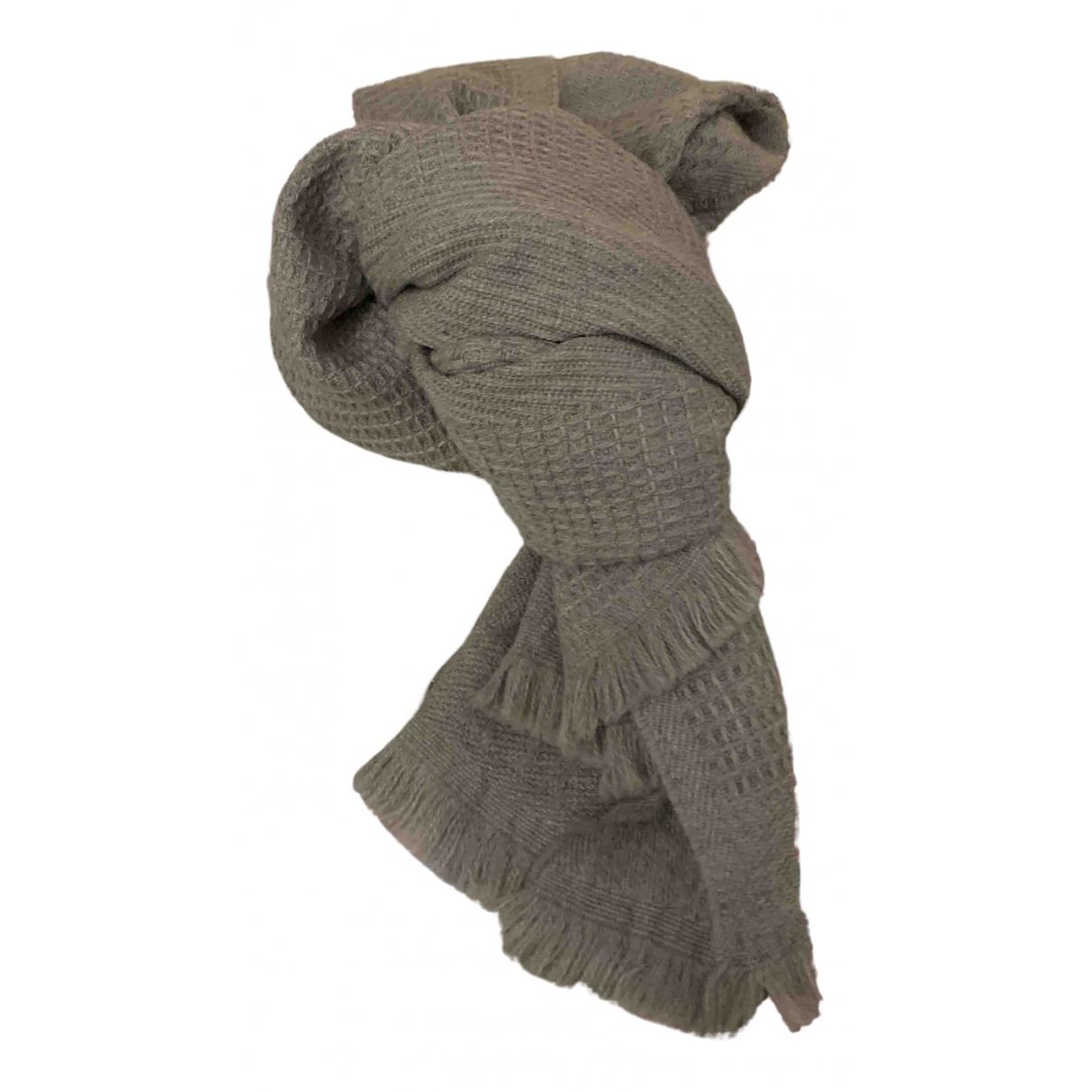 Nina Ricci - Foulard   pour femme en laine - gris