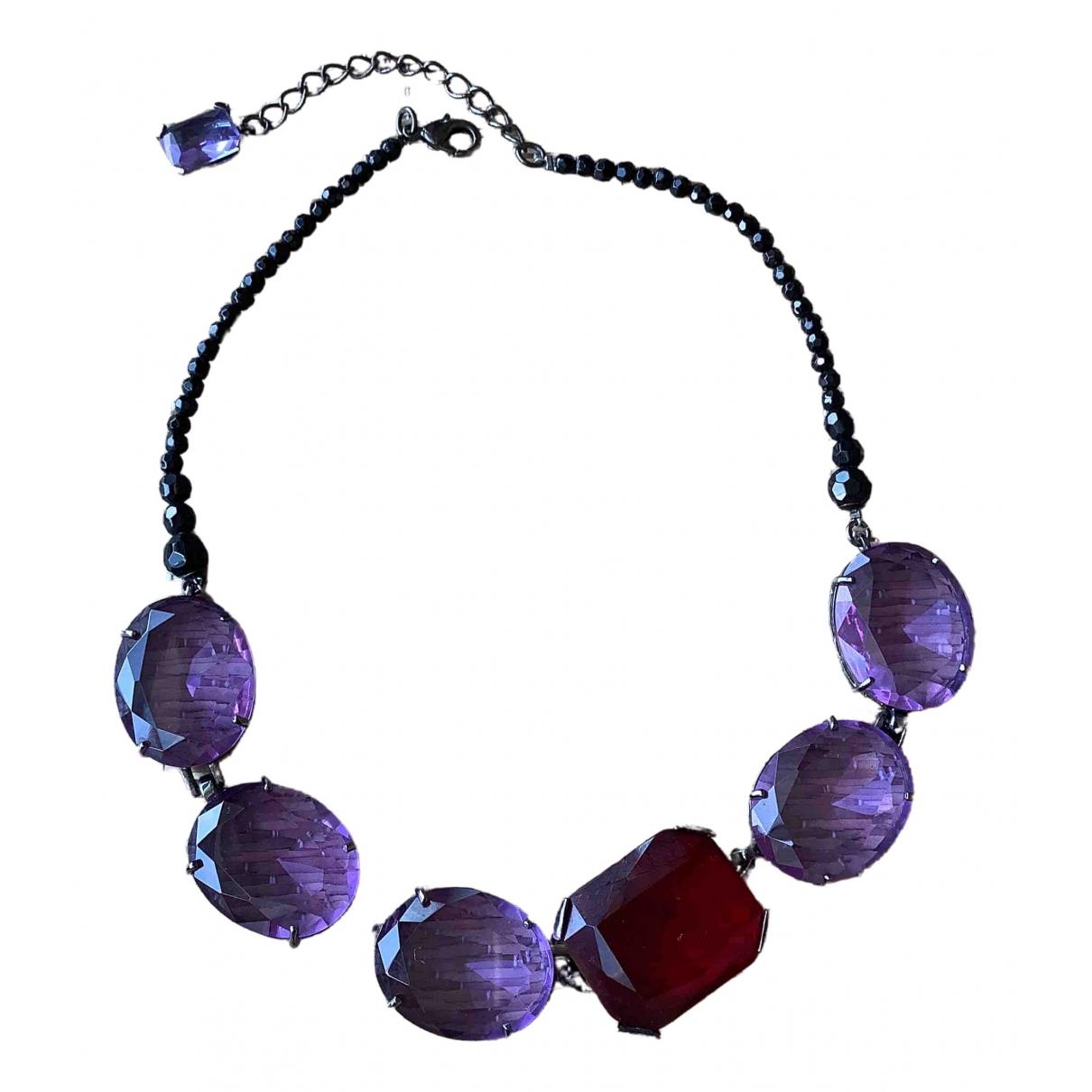 Boden - Collier   pour femme en metal - violet