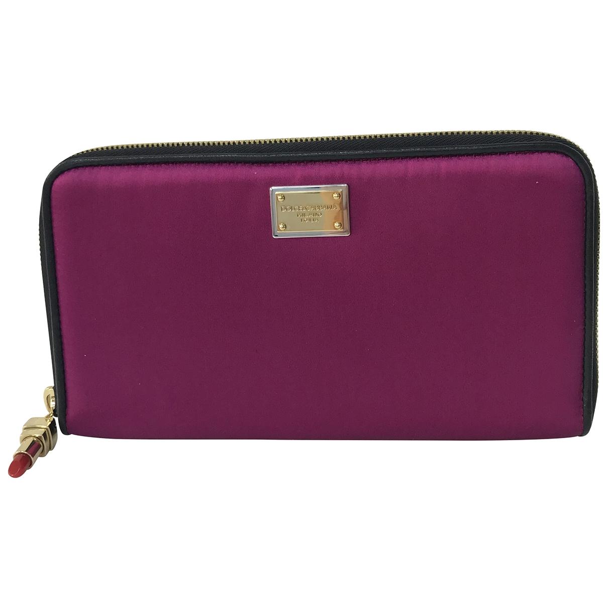 Dolce & Gabbana - Pochette   pour femme en soie - violet