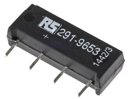 Meder SPNO reed relay,1A 12Vdc coil