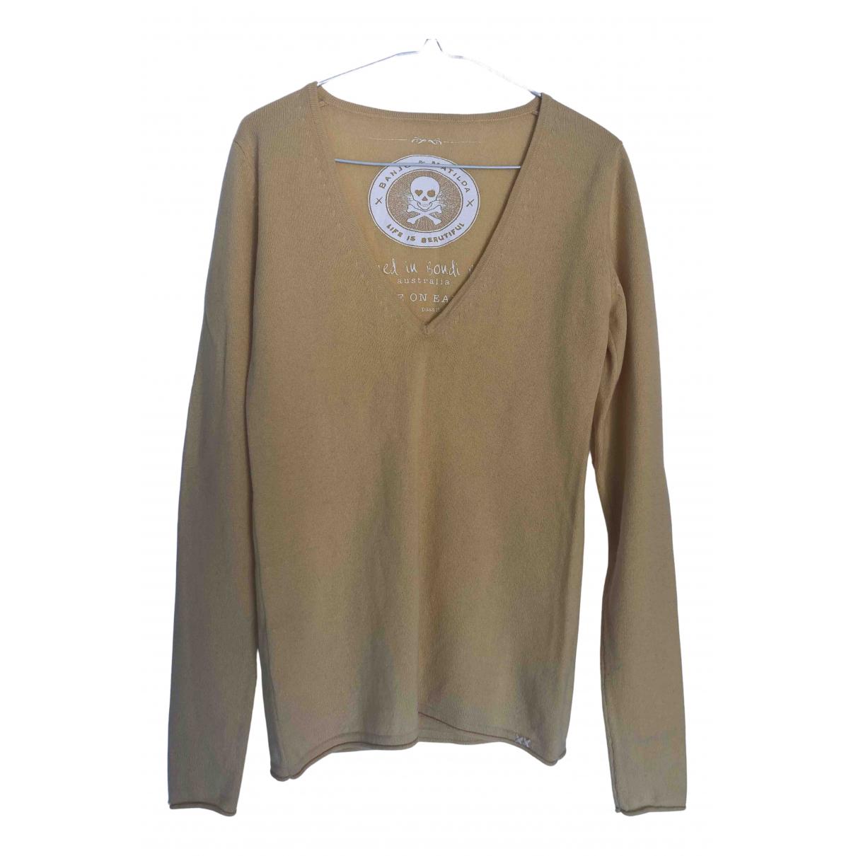 Banjo & Matilda N Yellow Cashmere Knitwear for Women S International