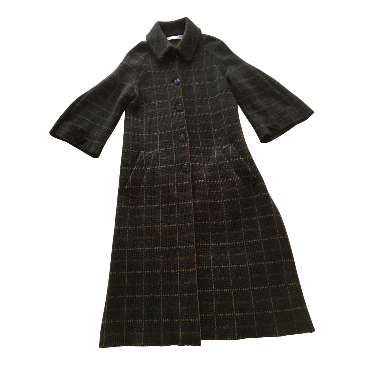Dior N Brown Wool coat for Women 36 FR