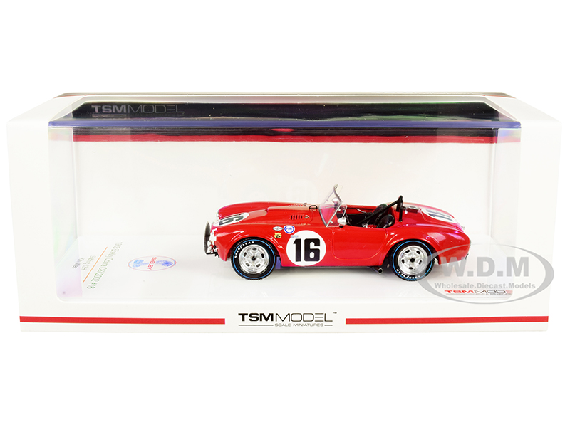 Shelby Cobra CSX2002 16 Ken Miles Sebring 12H (1963) 1/43 Model Car by True Scale Miniatures