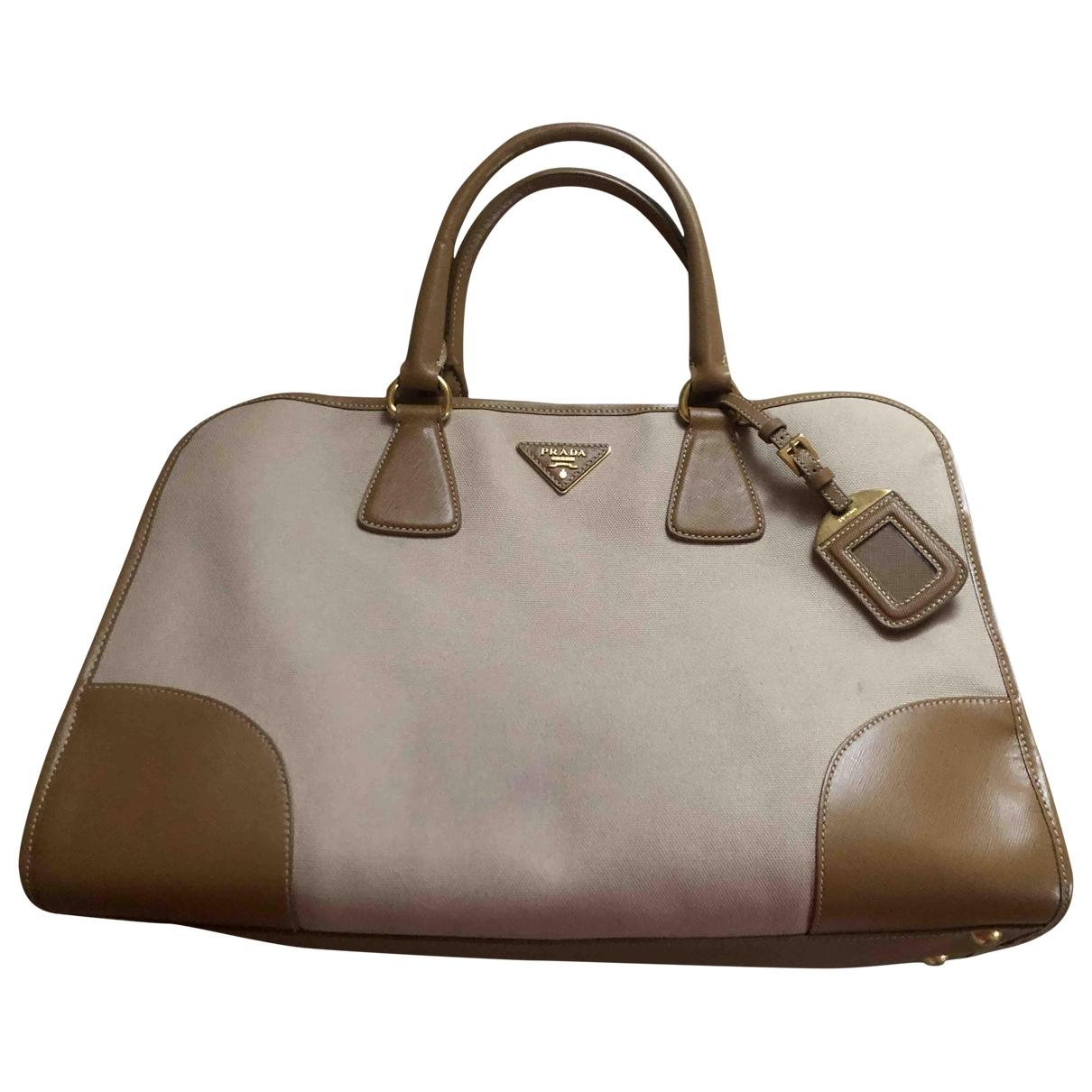 Prada \N Beige Cotton handbag for Women \N