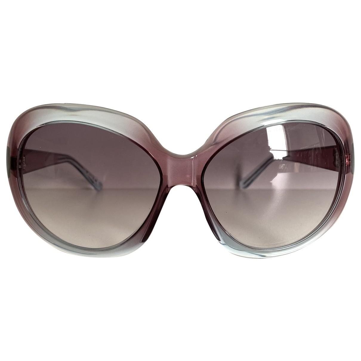 Just Cavalli \N Sonnenbrillen in  Lila Kunststoff