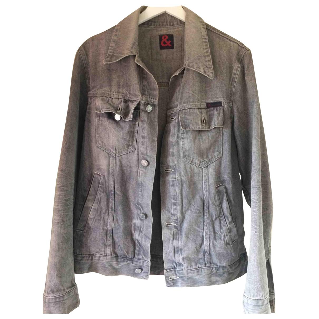 Dolce & Gabbana - Vestes.Blousons   pour homme en denim - gris