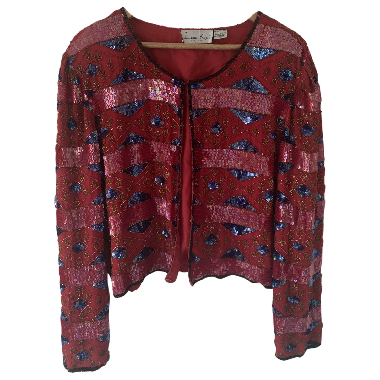 Non Signé / Unsigned \N Multicolour Silk jacket for Women 8 UK