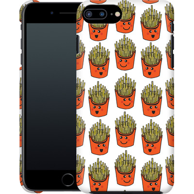 Apple iPhone 7 Plus Smartphone Huelle - Happy Fries  von caseable Designs