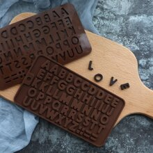 Letter Shape Bake Mold 1pc