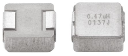 Vishay , IHLP-2525CZ-01, 2225 (5664M) Shielded Wire-wound SMD Inductor with a Metal Composite Core, 820 nH ±20% (5)