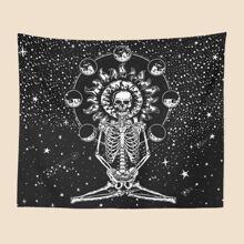 Skull Print Tapestry